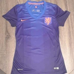 NWT Women's Nike Soccer shirt- Holland